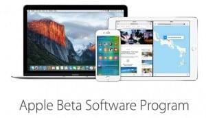 Cabecera del Apple Beta Software Program