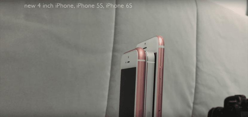 Copia china del iPhone SE