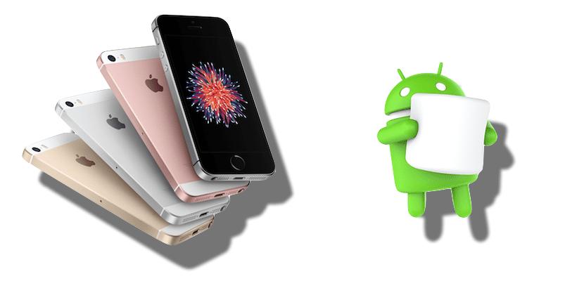 iPhone SE contra la compatencia