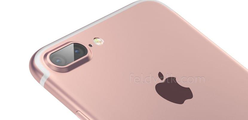 Simulación del iPhone 7