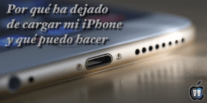 iPhone no carga