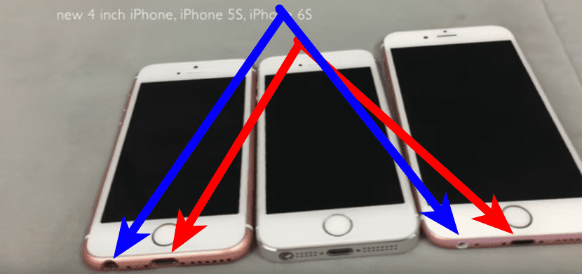iPhone SE falso: diferencias