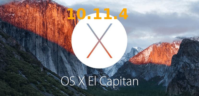 El Capitan OS X 10.11.4