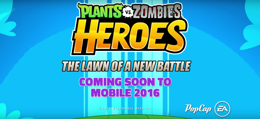 Teaser de Plants vs. Zombies Heroes