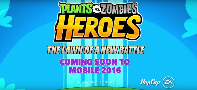 Teaser de Plants vs. Zombies Heroes