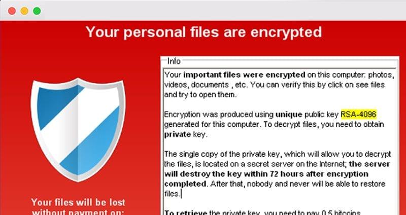 Primer caso de ransomware en OS X