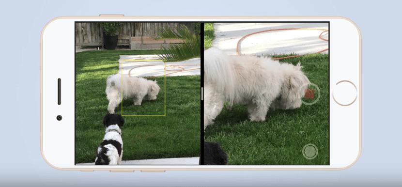 Uso de una cámara dual según Apple