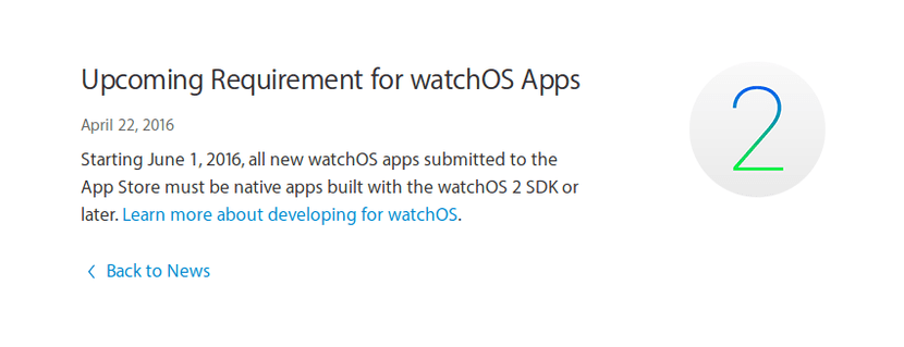 Apple pide aplicaciones nativas para el Apple Watch