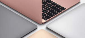 Macbook Rose Gold