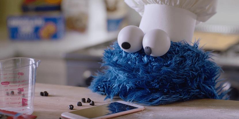 Siri y el monstruo de las galletas