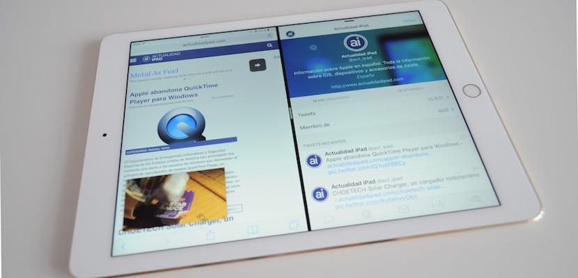 Split Screen en iPad Pro