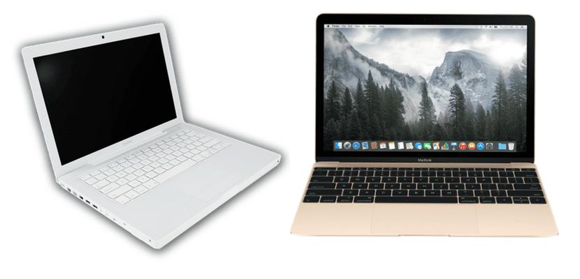 Evolución Macbook