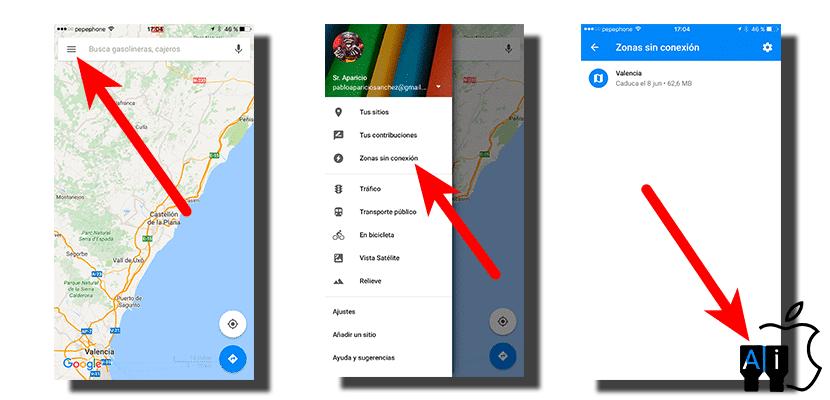 Descargar google maps