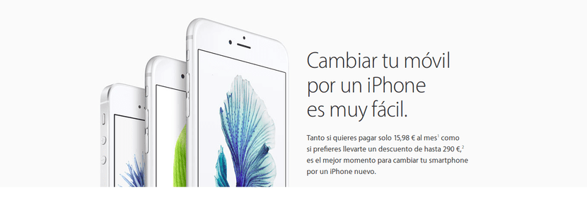 Plan de renovacion del iPhone