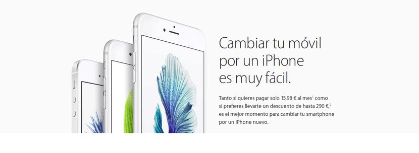 Plan de renovacion del iPhone