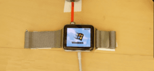 Windows 95 en un Apple Watch