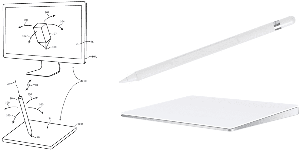 Patente del Apple Pencil