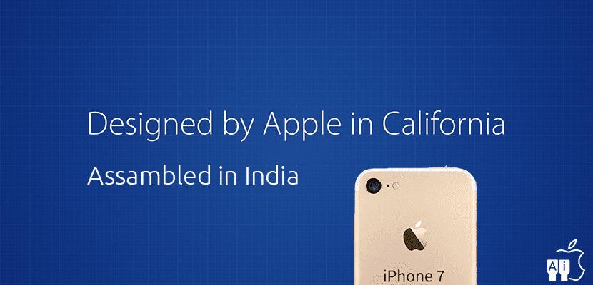 Designed in California, Assambled in India