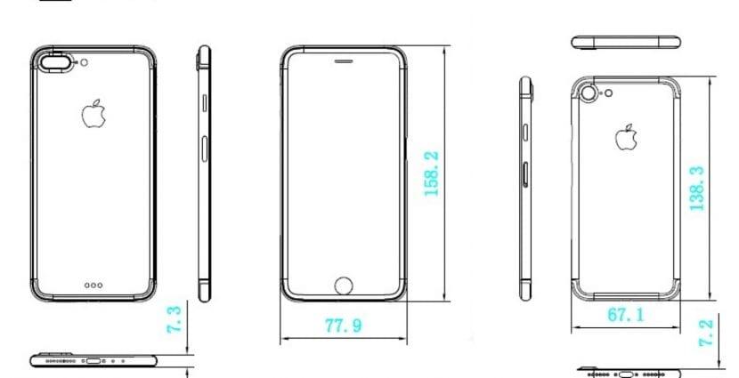 Esquemas iPhone 7 y iPhone 7 Plus