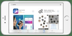 Búsqueda App Store