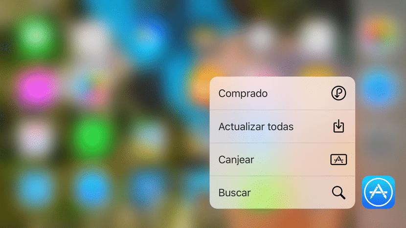 Acceso rápidos App Store