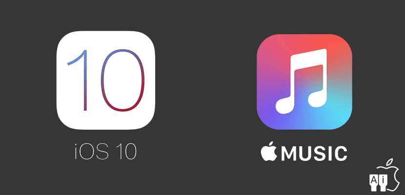 iOS 10 y Apple Music