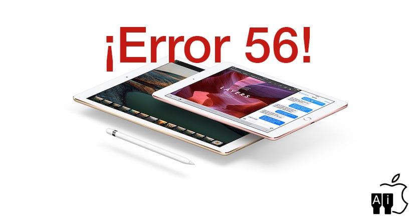 iPad Pro y el Error 56