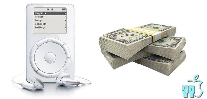 iPod con dinero