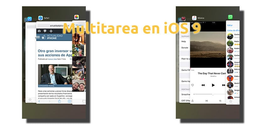Multitarea en iOS 9
