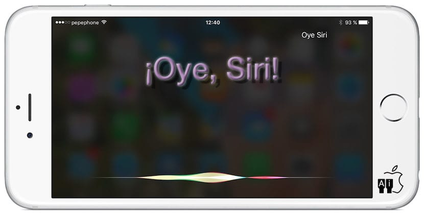 Oye, Siri