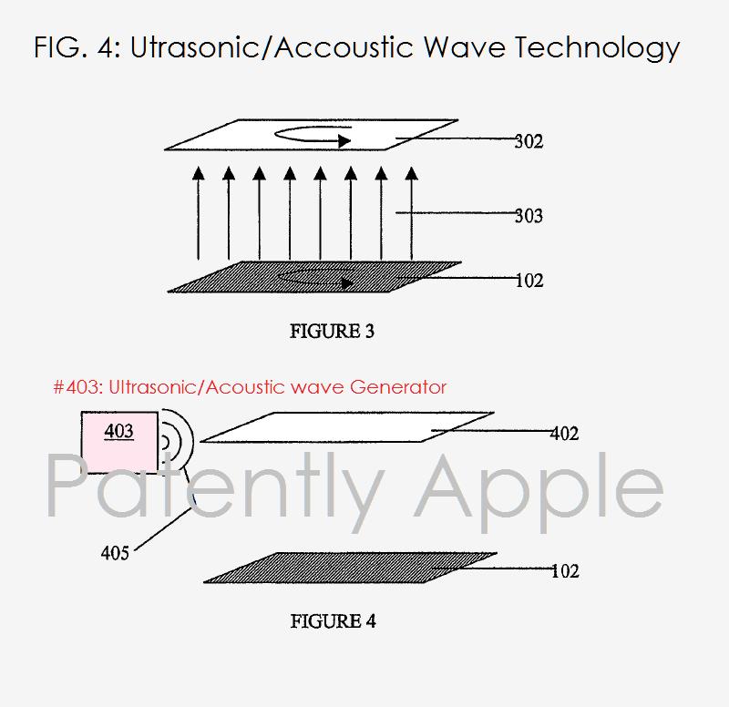 Patente de un Touch ID embebido en la pantalla
