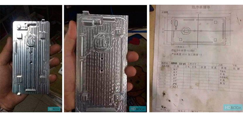 Planchas y esquemas del iPhone 7