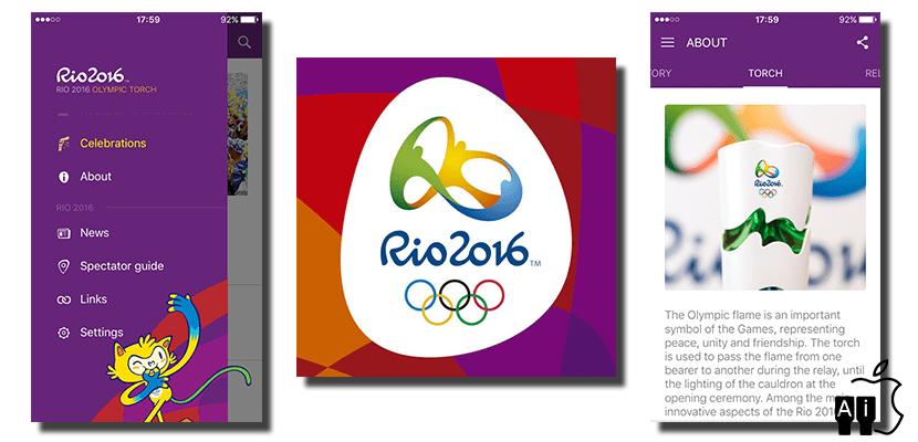 Aplicación oficial de Rio 2016