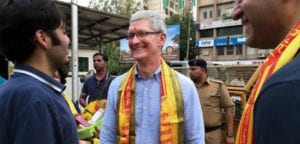 Tim Cook en India