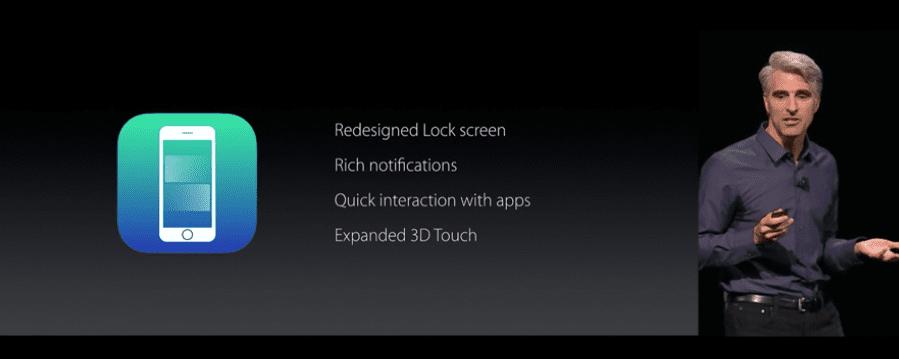 Apple presenta iOS 10 con 10 novedades interesantes