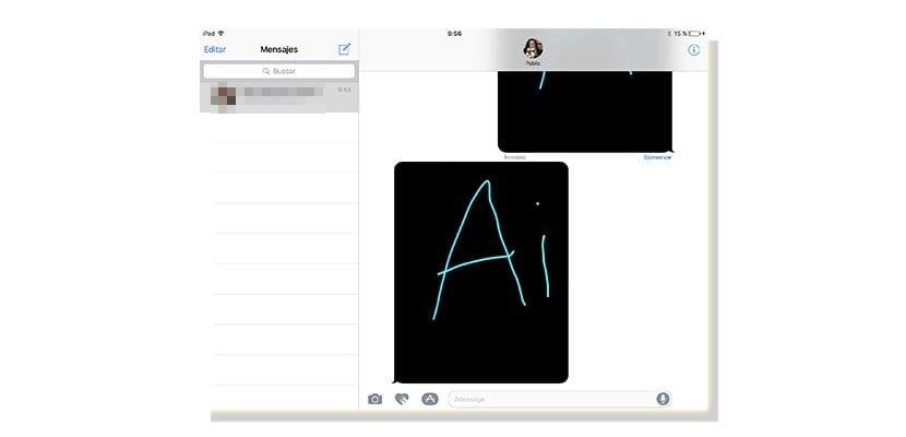Mensajes en iOS 10