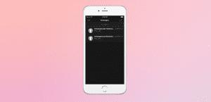 Modo oscuro de iOS 10