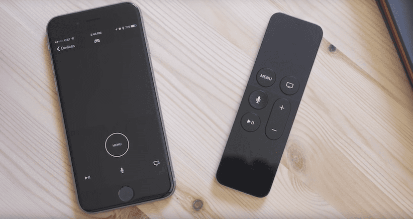 App Remote para Apple TV 4