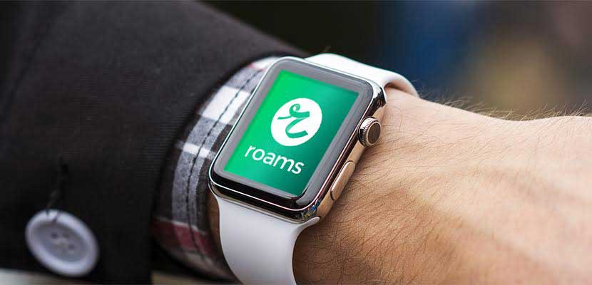 App de Roams para Apple Watch