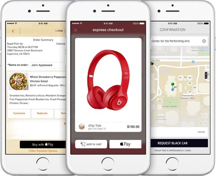 Apple Pay en App