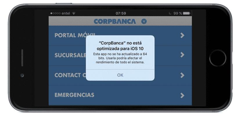 iOS 10 64 bits