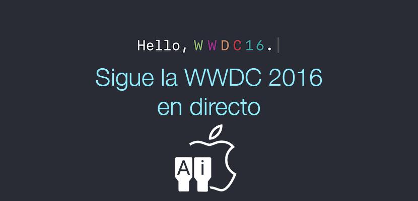 Sigue la WWDC 2016 en directo