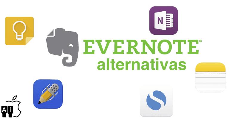 Alternativas a Evernote