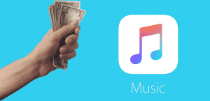 Apple Music Dinero
