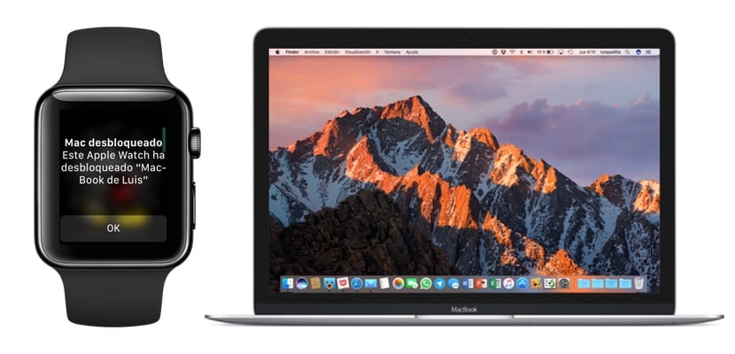Cómo desbloquear un Mac con el Apple Watch