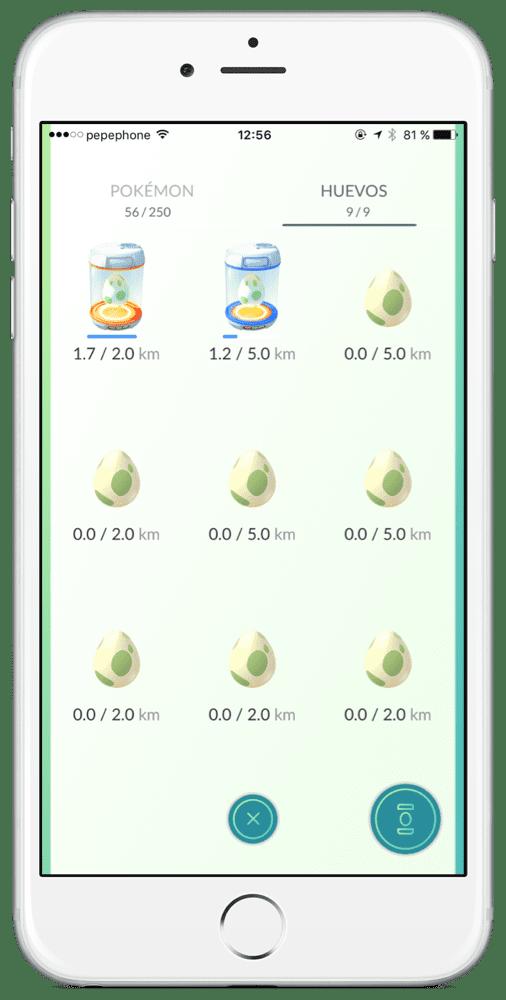 Incubar huevos Pokémon GO