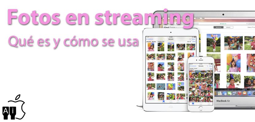 Qué es Fotos en streaming