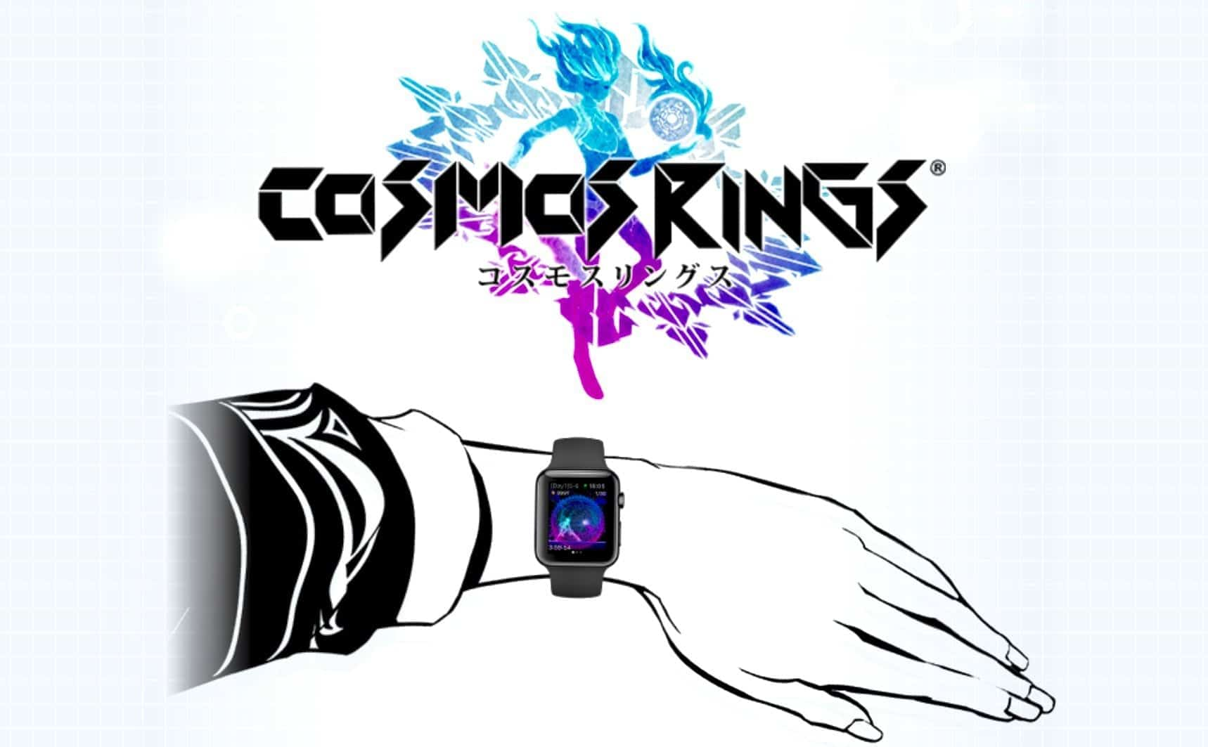Square Enix RPG Apple Watch: Cosmos Rings