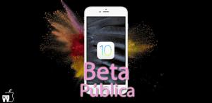iOS 10 Beta Pública