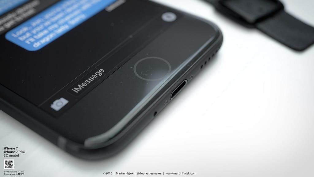 iPhone 7 botón de inicio
